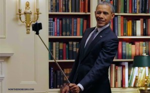 obama-with-selfie-stick-22-mass-shootings-since-becoming-president