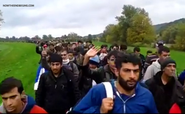 next-wave-muslim-migrants-all-men-isis-militants-marching-to-austria