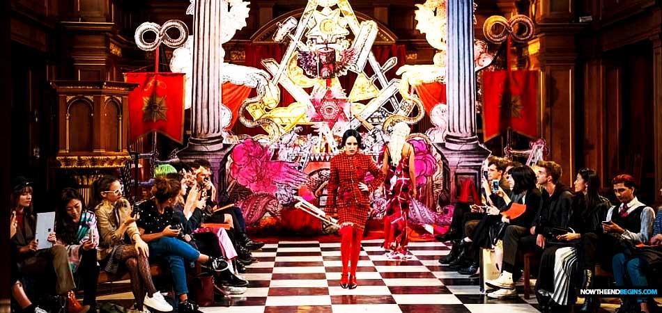 London Fashion Week Features Satanic Black Mass Fashion