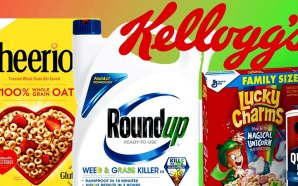 monsanto-roundup-glyphosate-kelloggs-quaker-oat-bran-breakfast-cereal-cancer-causing