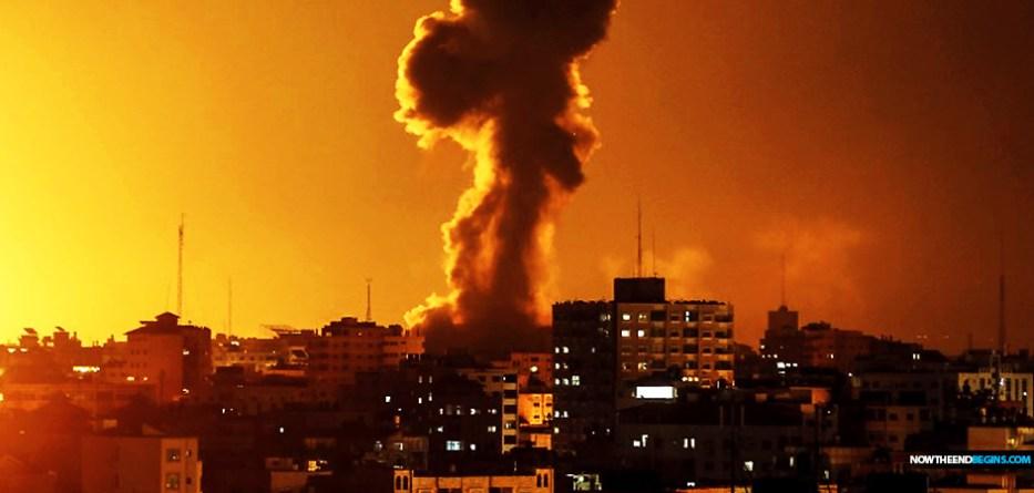 israel-idf-begins-airstrikes-on-hamas-gaza-strip-march-25-2019-netanyahu