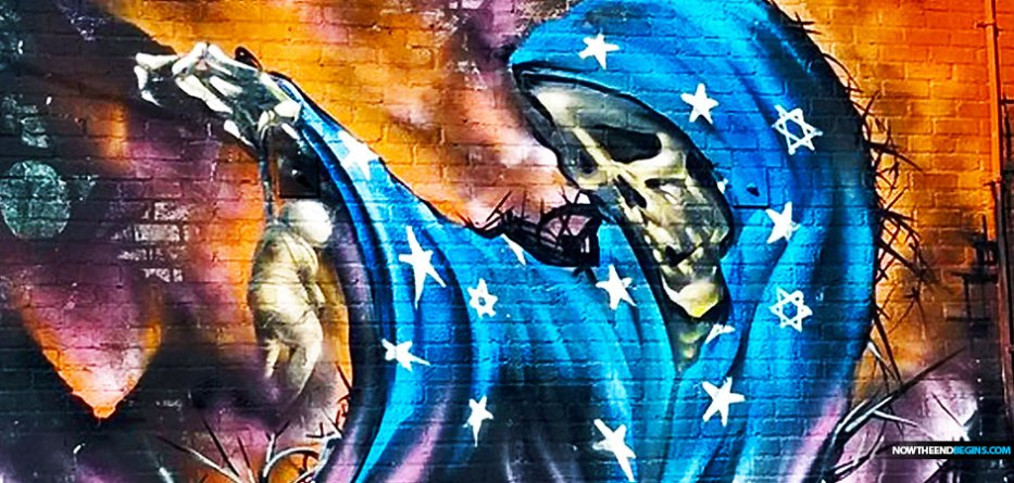 los-angeles-mayor-blasts-antisemitic-grim-reaper-star-david-mural-vortex-building