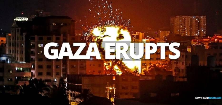 israeli-defense-forces-bombs-120-targets-tunnels-gaza-strip-after-palestinian-rocket-fire-attacks-idf-hamas