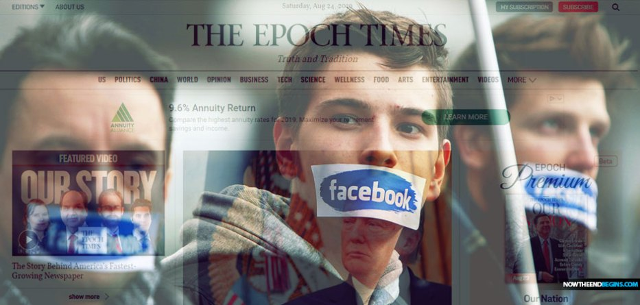 Facebook bans ads from The Epoch Times after huge pro-Trump buy