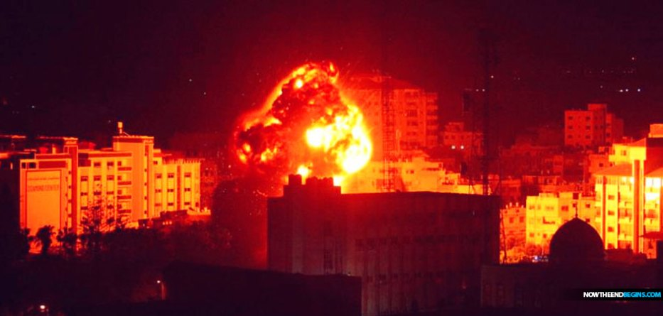 IAF jets struck several targets in the Gaza Strip Friday night following the launching of rockets towards southern Israel.