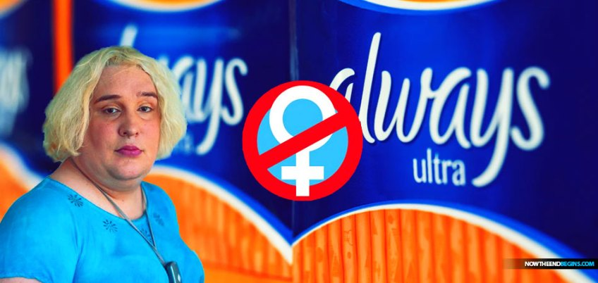 Transgender Activists Force Procter & Gamble Menstrual Products Brand Always To Remove 'Woman' Symbol From Packaging