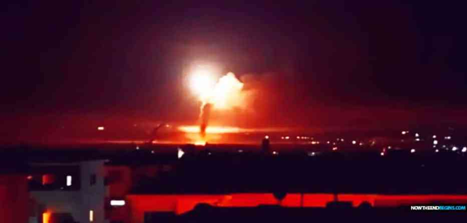 Israel attacks dozens of Iranian Quds, Syrian regime targets
