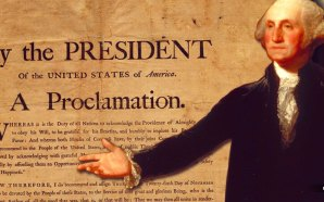 George Washington thanksgiving proclamation of 1789