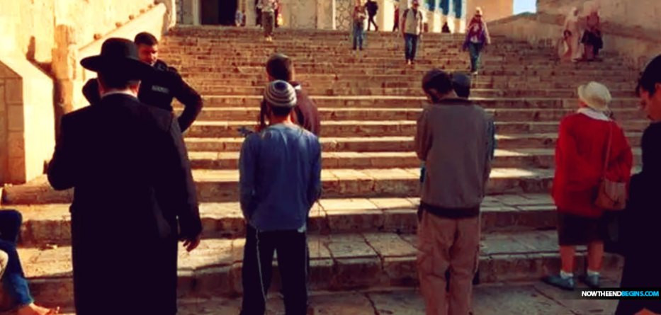Jewish Prayer Has Returned To The Temple Mount As Talk Of Rebuilding The Temple Ignites Controversy In Israel