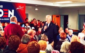 Joe Biden explodes at Iowa Town Hall