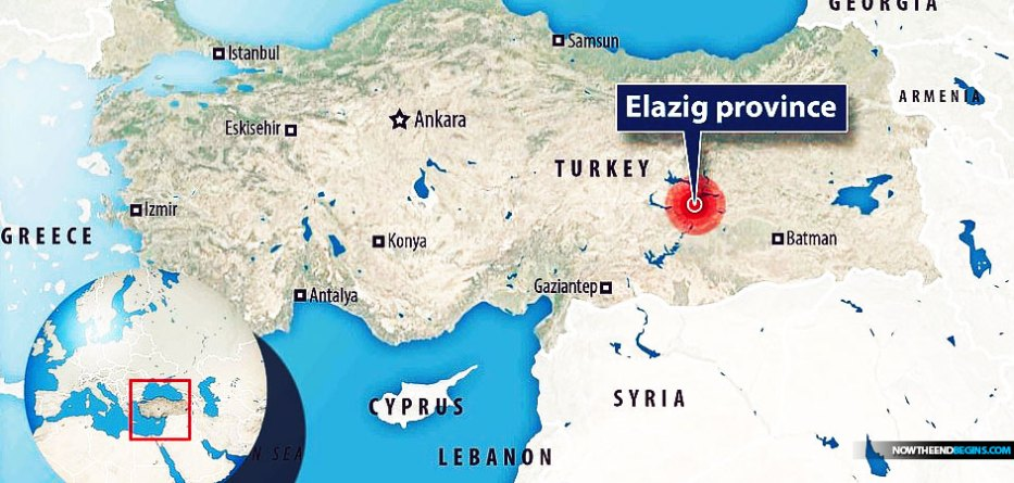 The quake was felt as far away as Israel, where residents in Petah Tikva, Holon, Yavne and Beersheba reported feeling the temblor. There were no immediate reports of injuries or damage in Israel. An earthquake with a preliminary magnitude of 6.8 rocked eastern Turkey on Friday