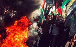 Palestinians mobilize against Trump peace plan