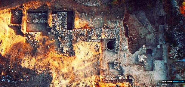 Biblical archaeologists discover mysterious temple in ancient bible city of Mozah outside of Jerusalem and it's revealing end times secrets.