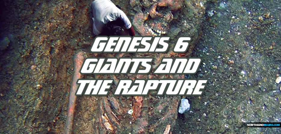 Genesis 6 giants, the days of Noah and the coming Pretribulation Rapture of the Church