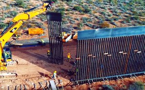 After years of setbacks, President Donald Trump is on track to build more than 450 miles of a border wall along the southern border within the year, the White House says, making good on a campaign pledge as he seeks reelection.