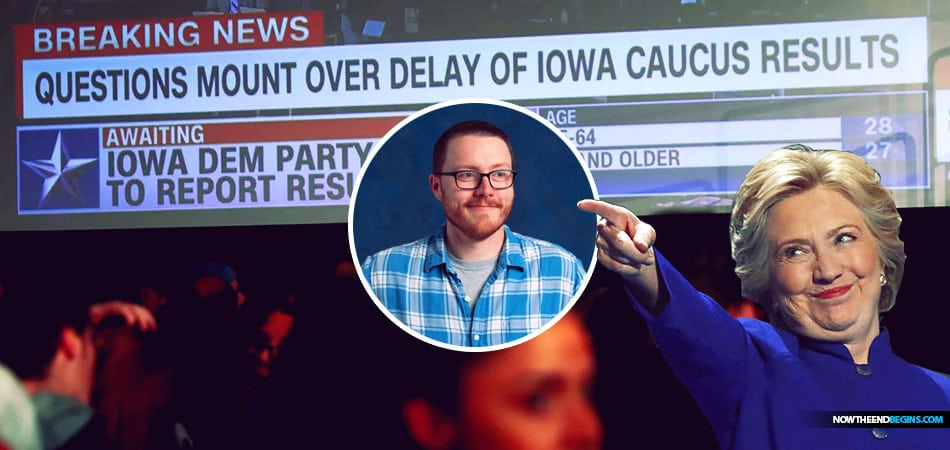 pp blamed for botched Iowa caucus created by Hillary Clinton campaign alum