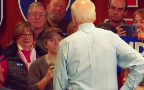 Concerns for Creepy Joe Biden and his 2020 campaign bid were mounting after he was caught on camera calling a woman a 'lying, dog-faced pony soldier' at a campaign stop in New Hampshire on Sunday.