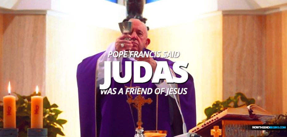 Pope Francis offered his Mass on April 8 for the conversion of those who are making money off the needs of others in this pandemic, then he talked about Judas being a friend to Jesus.
