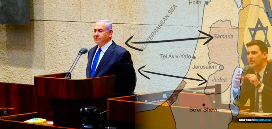 The 35th government of Israel, with Benjamin Netanyahu as leader, was sworn in at the Knesset on Sunday, vowing that annexation of Judea and Samaria is a top priority.