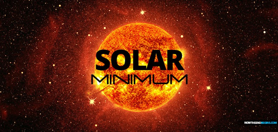 Our sun has gone into lockdown, which could cause freezing weather, earthquakes and famine, scientists say. The sun is currently in a period of 'solar minimum,' meaning activity on its surface has fallen dramatically.