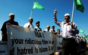 Israeli Arabs Protest US Embassy In Tel Aviv