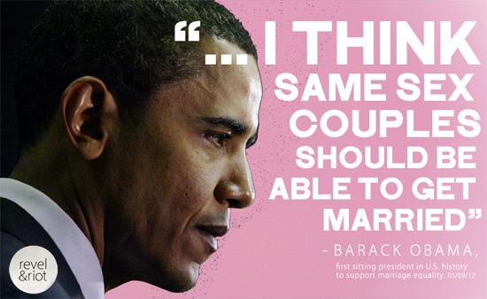 Obama Same Sex Marriage
