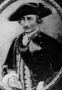 Brig. Gen. John Forbes as illustrated in a recent book