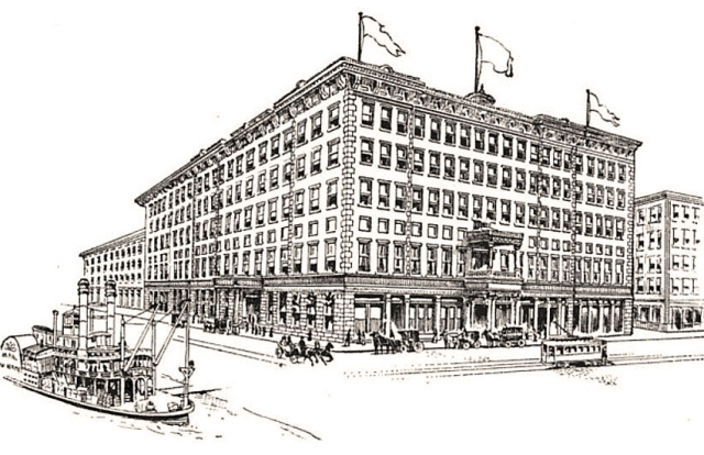 Parton stayed at the best hotel in town, the Monongahela House. It was on Smithfield Street near the bridge.