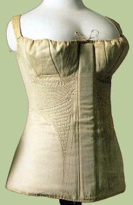 Lift&Separate was the rather modern goal of this 1816 corset.