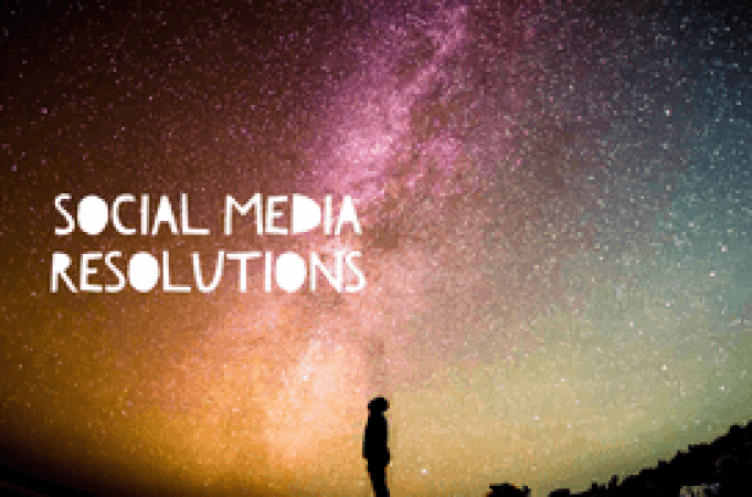 Social Media Resolutions!