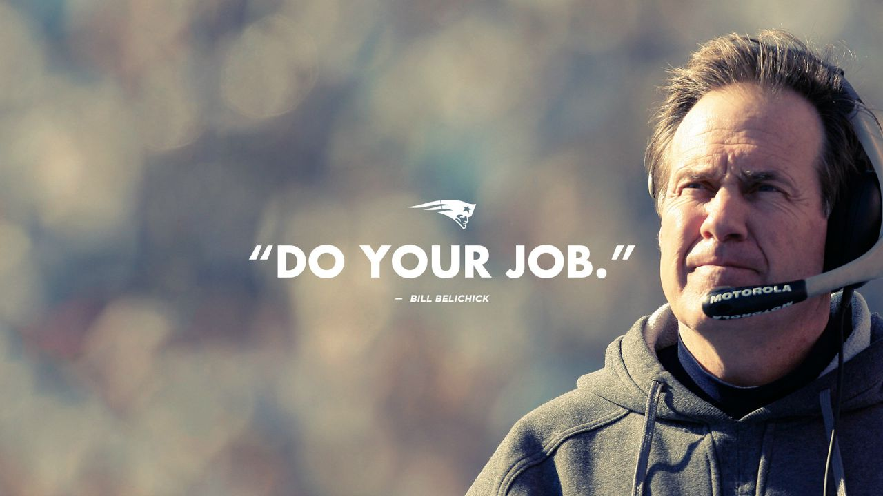 Resultado de imagen para bill belichick do your job