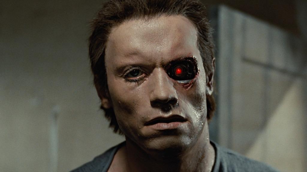 Terminator esp of the 1984 film.