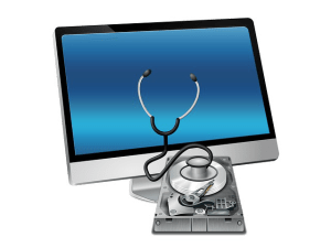 Transparent Background doctor monitor