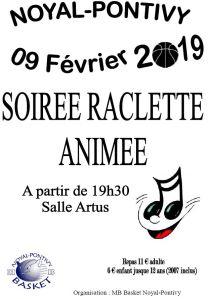 Raclette MB BASKET