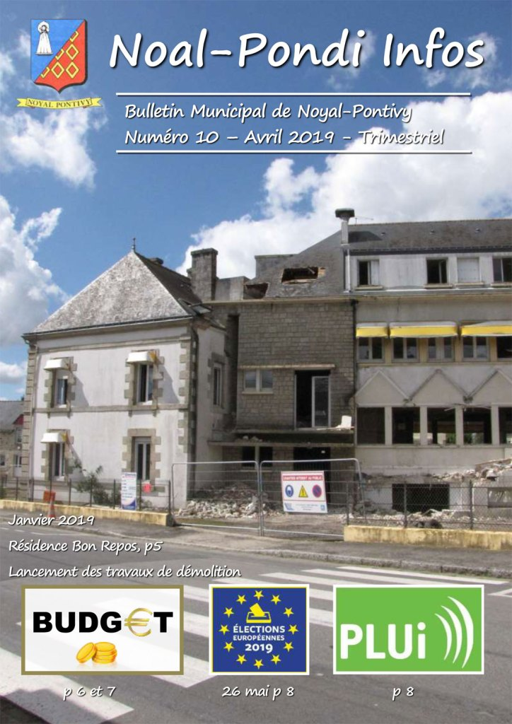 Bulletin Municipal d'Avril 2019