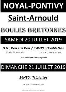 Concours Boules Bretonnes