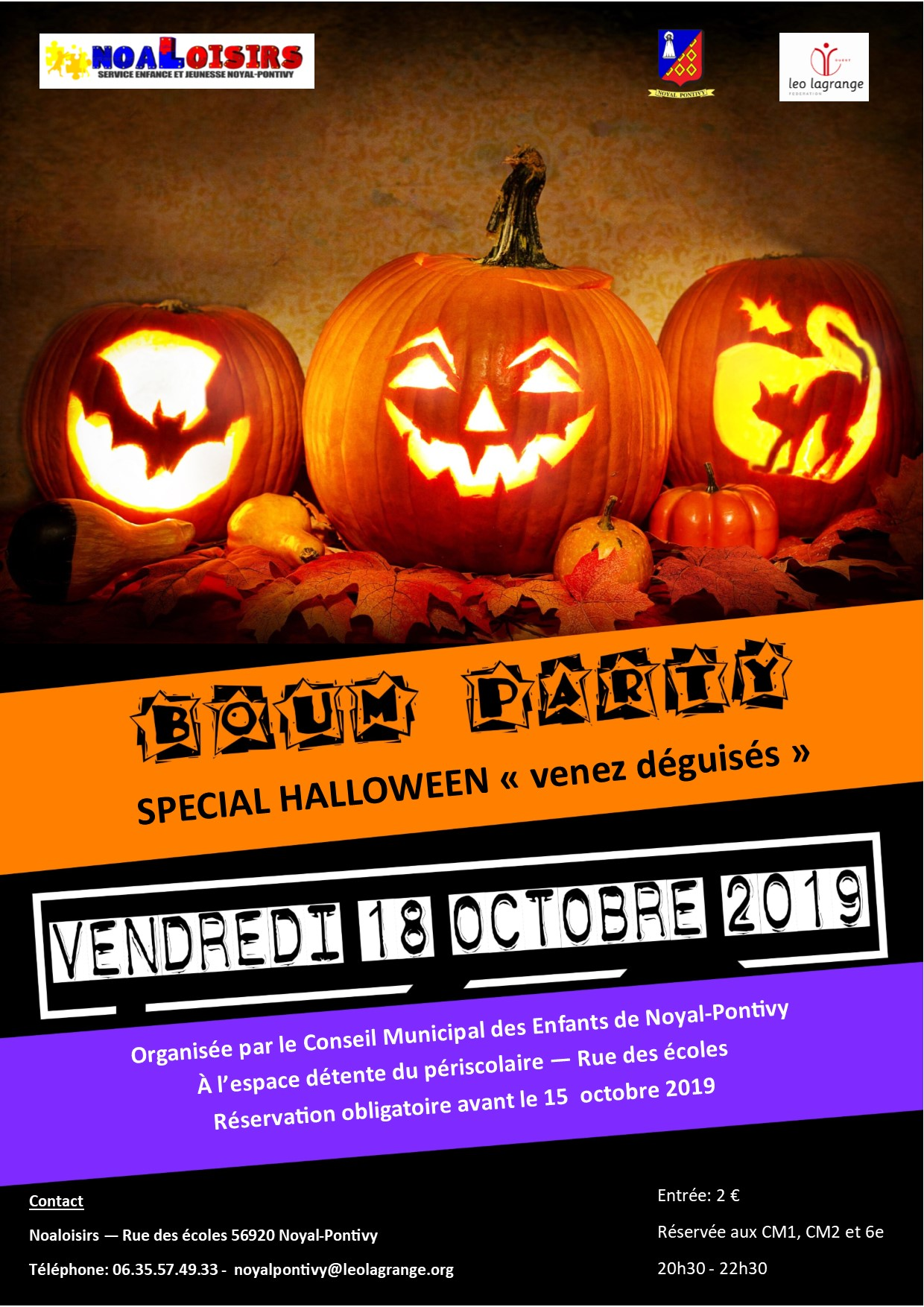 Boum Party Special Halloween