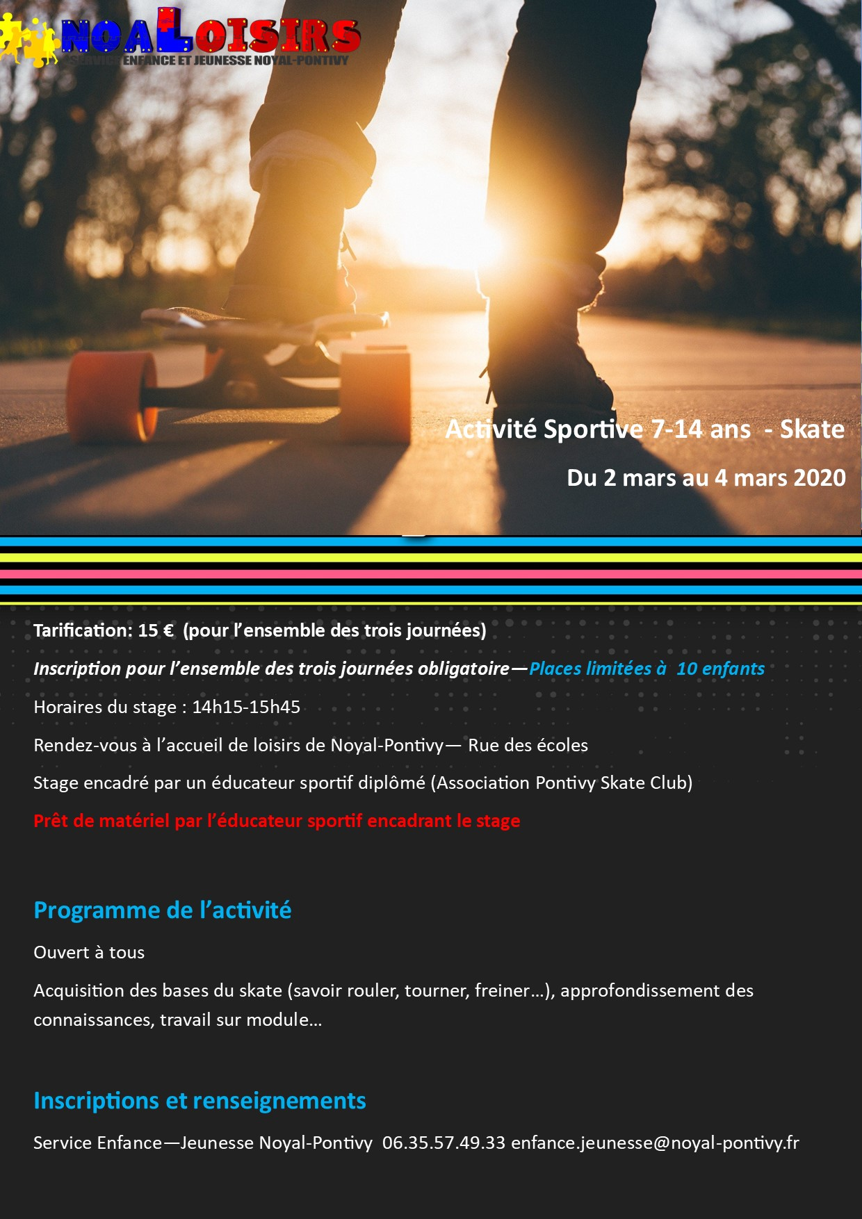 Stages Skate - Hiver 2021