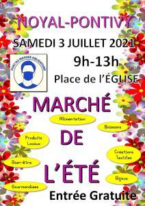 Marché de l'Été 3 juillet 2021