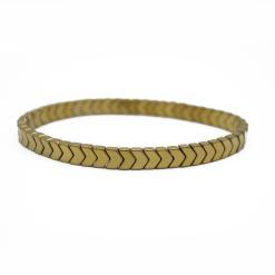 צמיד אבן המטייט זהב