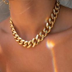 שרשרת קובנית זהב