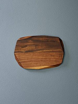 Lunch board in walnut