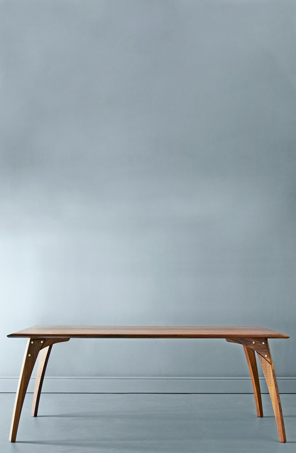 Skrivebord i valnød