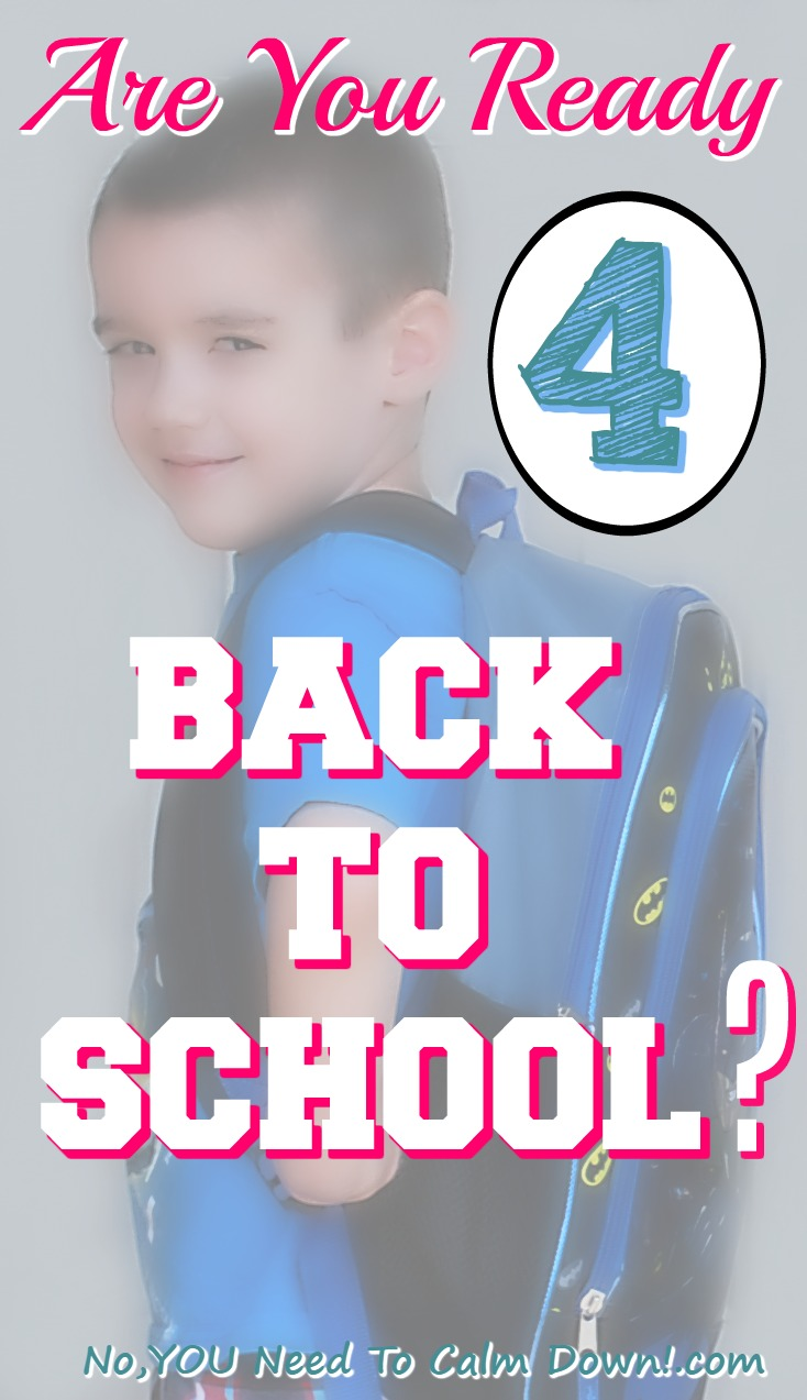 Are you ready for back to school? Here are some signs that you just might be.