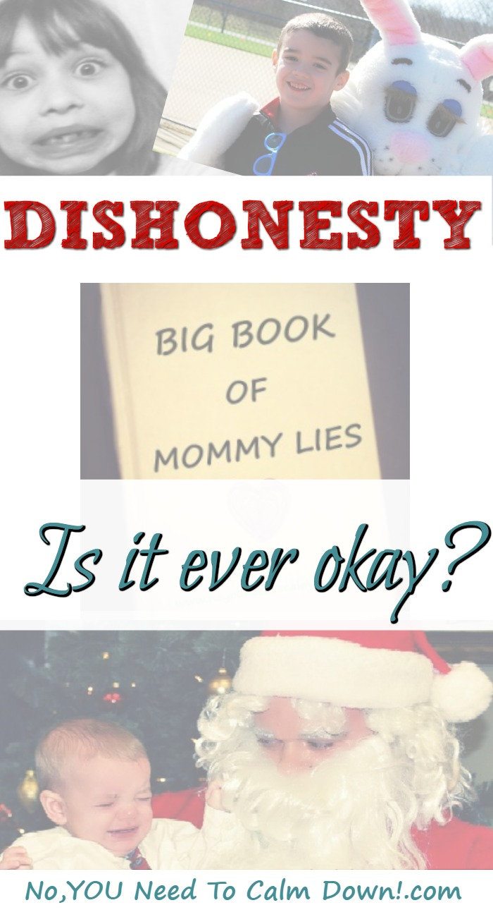Dishonesty is never allowed in our house. Except if it's about the tooth fairy, Easter Bunny, or Santa. Then, I have a plan.