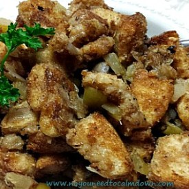 Honey Wheat and Apple Stuffing