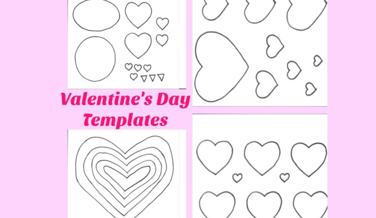 Valentine's Day Templates – Free Printables