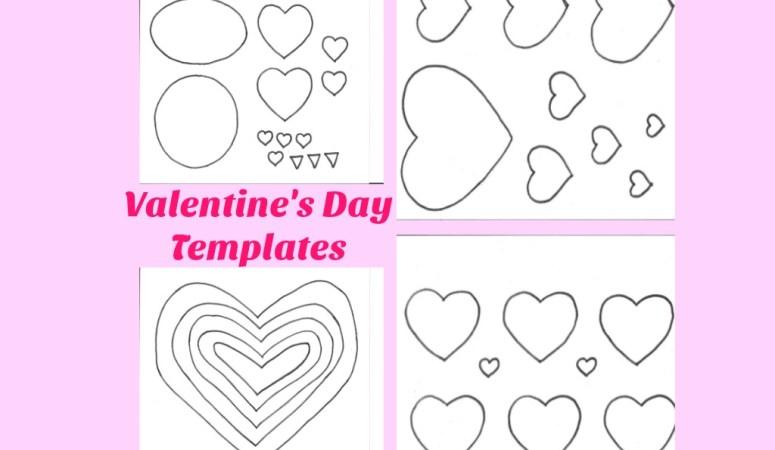 Valentine's Day Templates – Free Printables