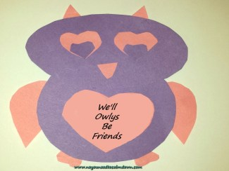 Valentine's Day Craft – Owl Valentine w/Free Template