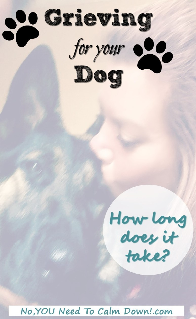 It's a real family loss. How long will you grieve for your dog?